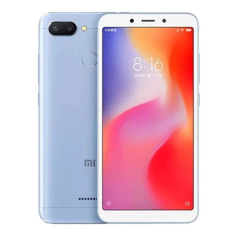 Смартфон Xiaomi Redmi 6 3/32Gb Blue смартфон xiaomi redmi 6 32gb