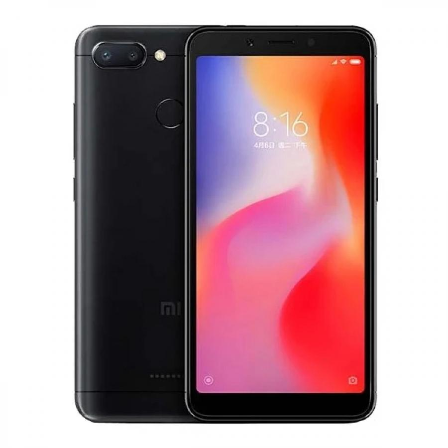 Смартфон Xiaomi Redmi 6 4/64Gb Black смартфон
