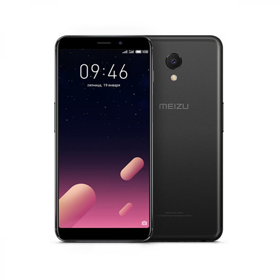 Смартфон Meizu M6s 3/32GB Black смартфон meizu m6 note 3 32gb black