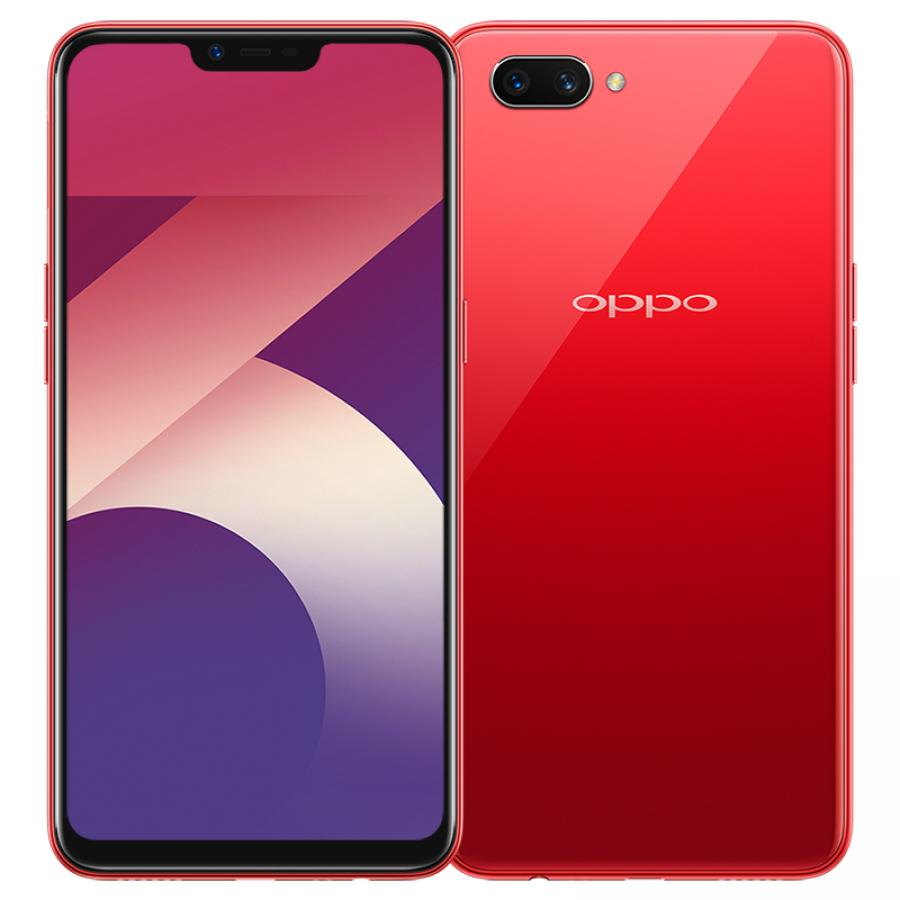 Смартфон Oppo A3s 16Gb Red накладка oppo easy cover for oppo a3s black