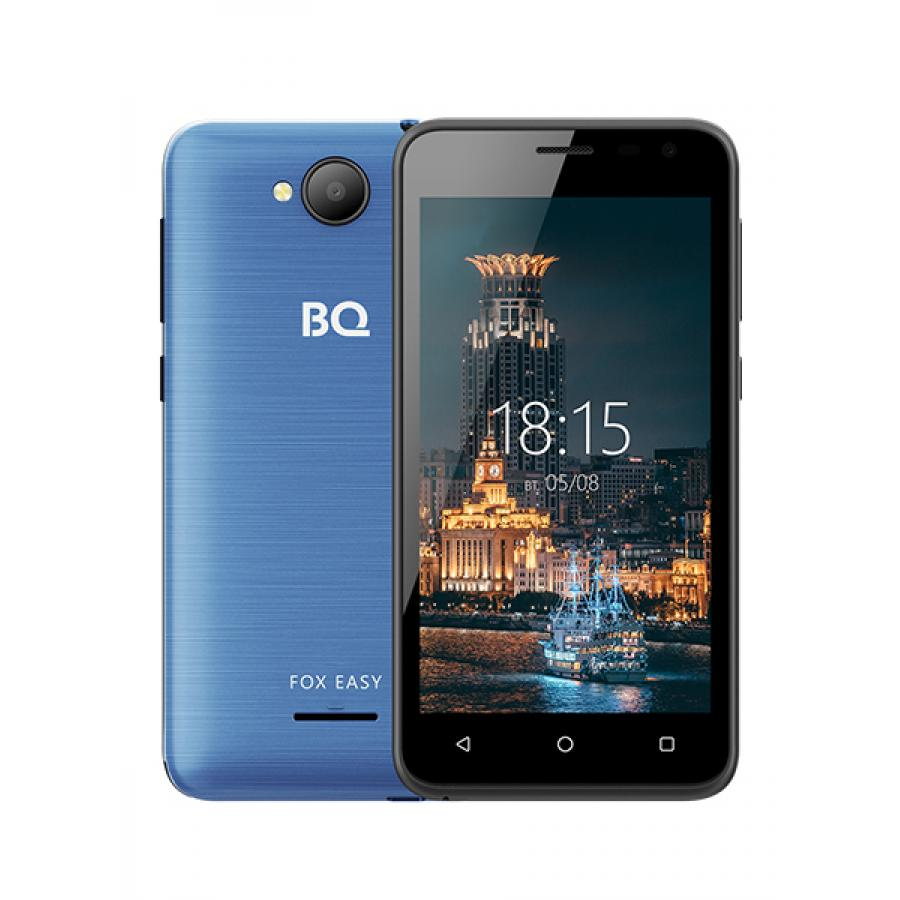 Смартфон BQ BQ-4501G Fox Easy Blue смартфон