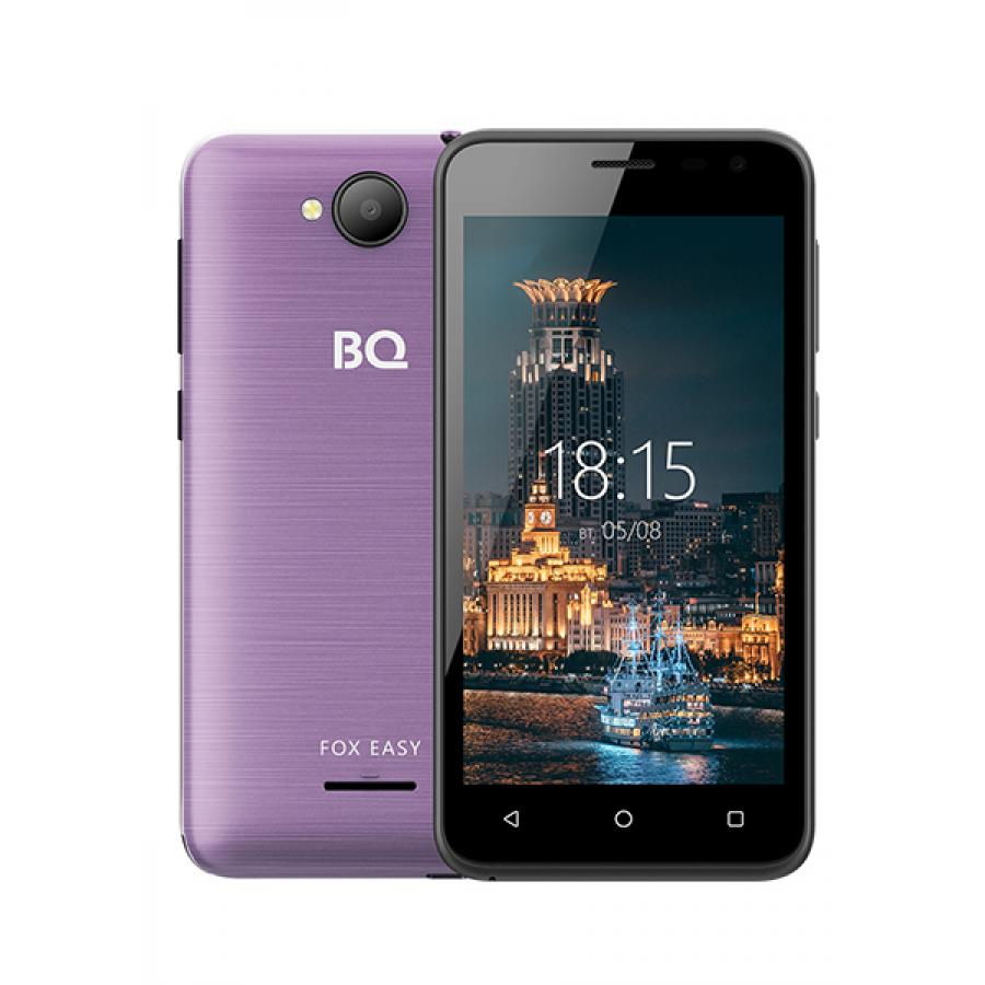 Смартфон BQ BQ-4501G Fox Easy Purple смартфон
