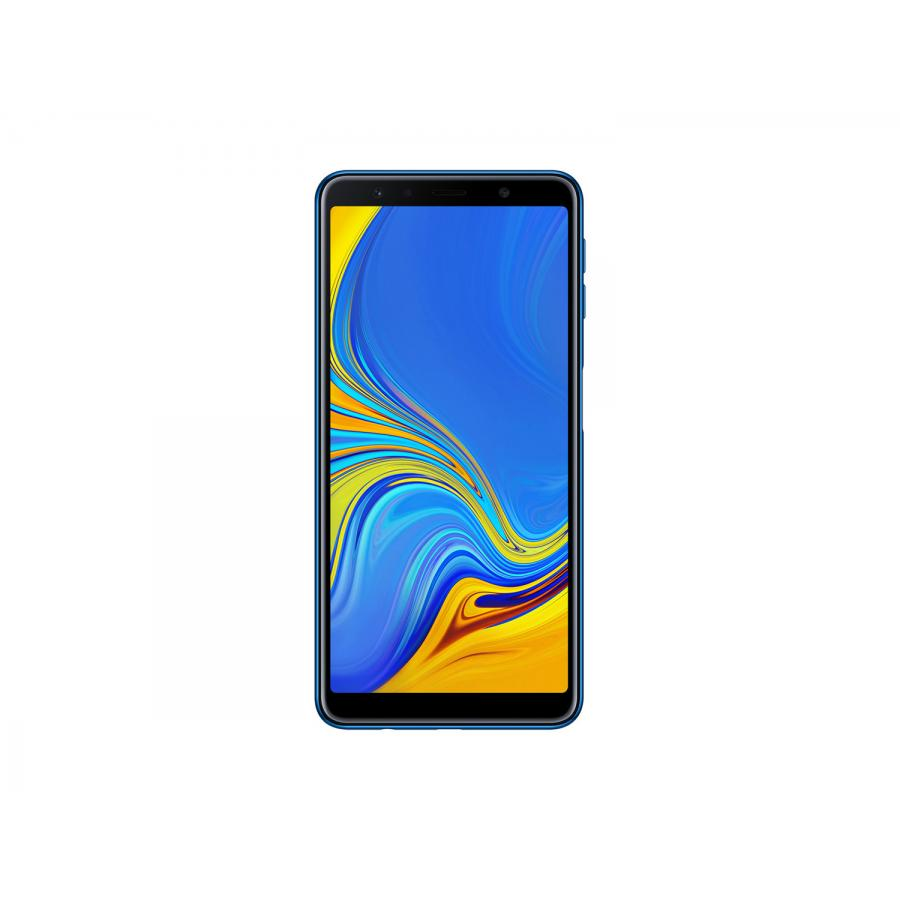 Смартфон Samsung A750FN Galaxy A7 (2018) 64Gb Blue - фото 3