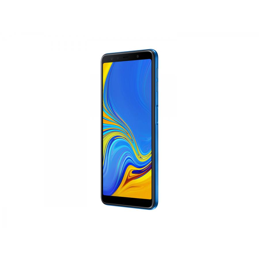 Смартфон Samsung A750FN Galaxy A7 (2018) 64Gb Blue - фото 4
