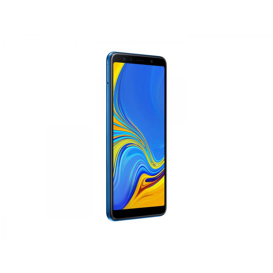 Смартфон Samsung A750FN Galaxy A7 (2018) 64Gb Blue - фото 5