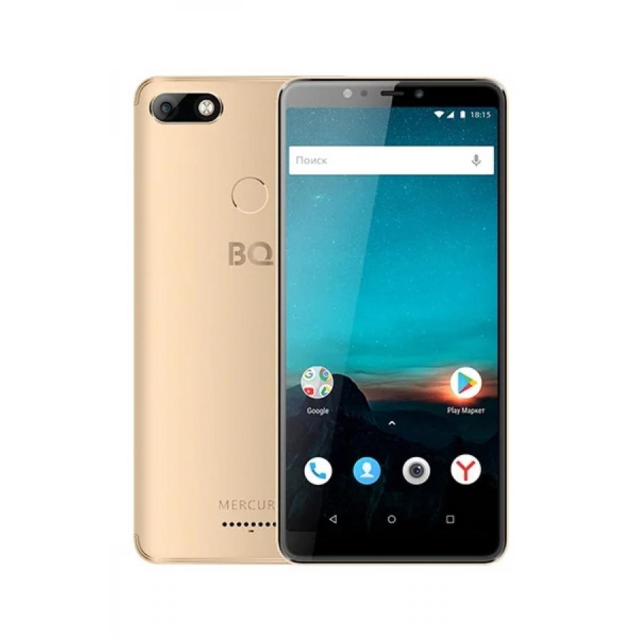 Смартфон BQ BQ-6016L Mercury Gold смартфон