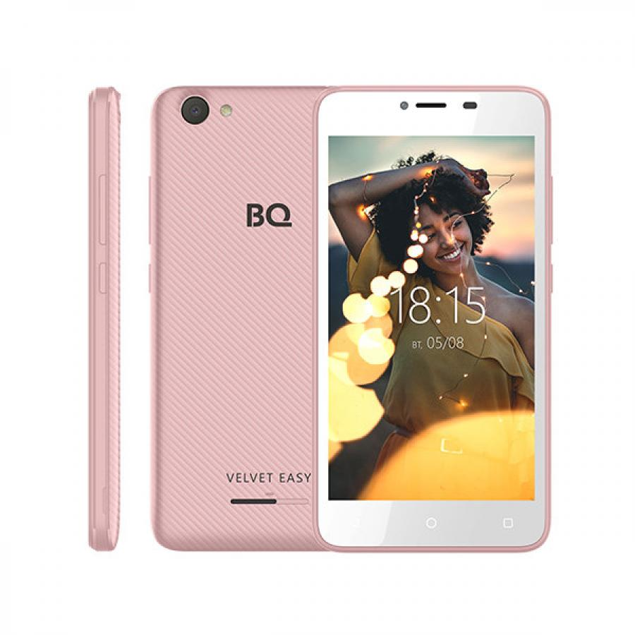 Смартфон BQ BQ-5000G VELVET EASY ROSE GOLD