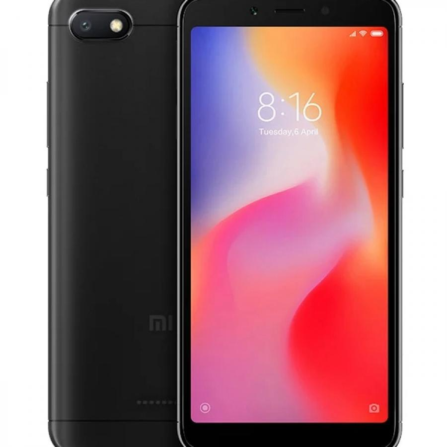 Смартфон Xiaomi Redmi 6A 2/16Gb Black смартфон xiaomi redmi 6a 2 32gb gold