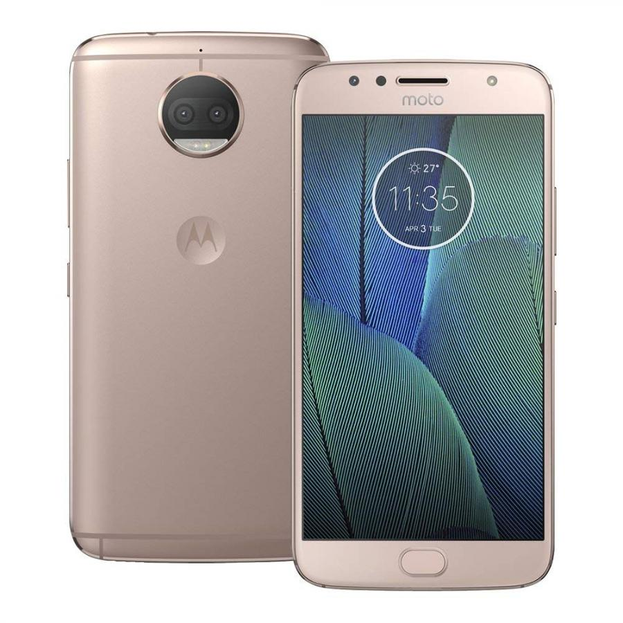 Смартфон Motorola XT1803 G5S Plus 32Gb 3Gb Gold смартфон motorola g5s plus 32 гб золотистый pa6w0074tr