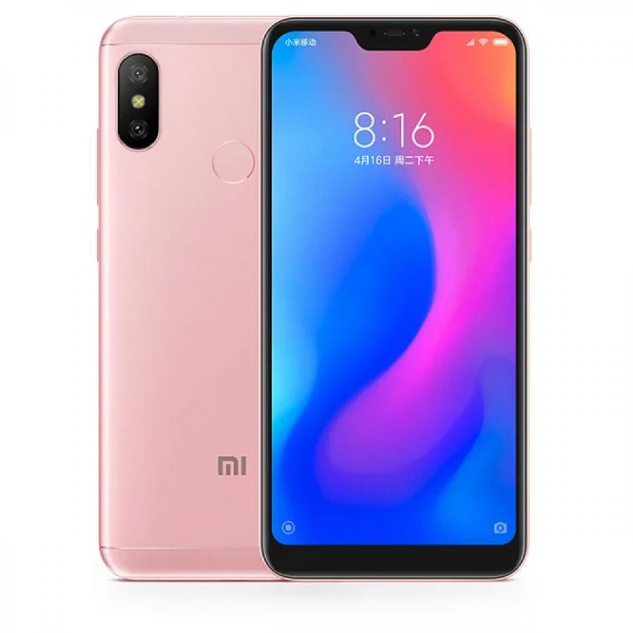 Смартфон Xiaomi Redmi Note 6 Pro 3/32Gb Rose Gold смартфон xiaomi redmi note 6 pro 3 32gb black
