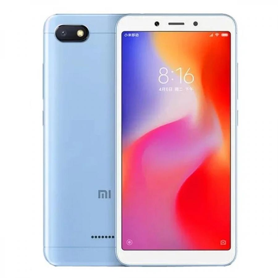 Смартфон Xiaomi Redmi 6A 2/16Gb Blue смартфон xiaomi redmi 4x 16gb gold