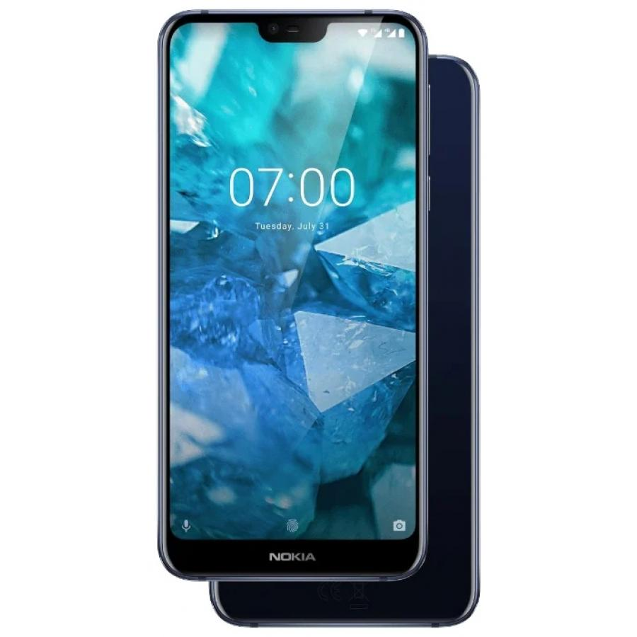 Смартфон Nokia 7.1 32Gb Blue смартфон nokia смартфон nokia 6 1 32gb blue