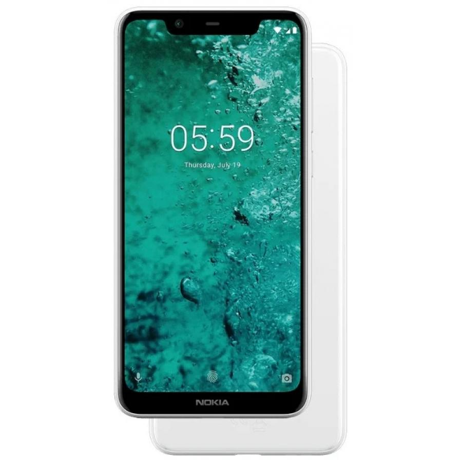 Смартфон Nokia 5.1 Plus 32Gb White смартфон nokia 7 plus черный