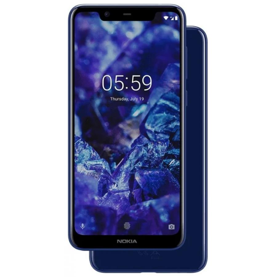 Смартфон Nokia 5.1 Plus 32Gb Blue смартфон nokia смартфон nokia 6 1 32gb blue