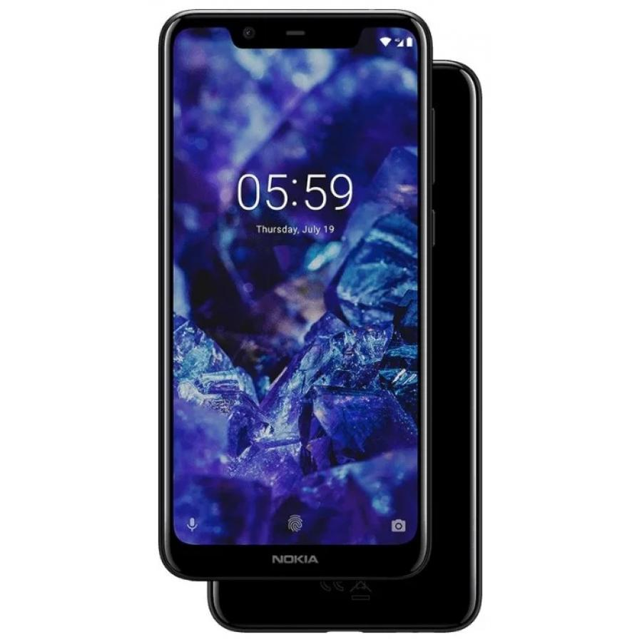 Смартфон Nokia 5.1 Plus 32Gb Black смартфон nokia 7 plus черный