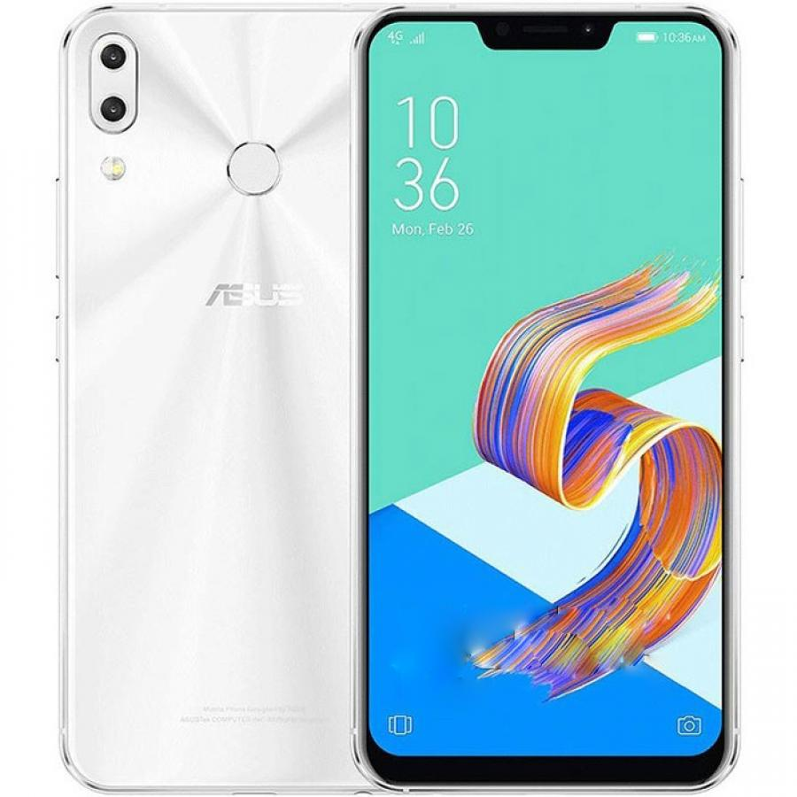 Смартфон Asus ZE620KL 4/64Gb White смартфон asus zenfone 5 ze620kl 4 64gb midnight blue