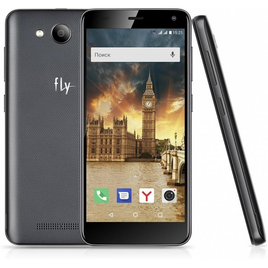 Смартфон Fly Life Compact 4G Black смартфон fly fs523 cirrus 16 lte black