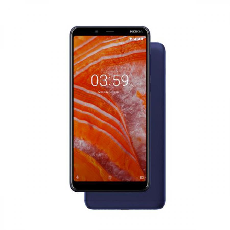 Смартфон Nokia 3.1 DS Plus Blue смартфон 11es2l01a01 nokia 3 1 ds blue