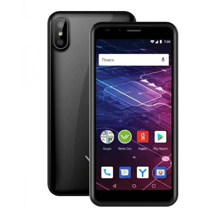 Смартфон Vertex Impress Click NFC 3G Black цена и фото