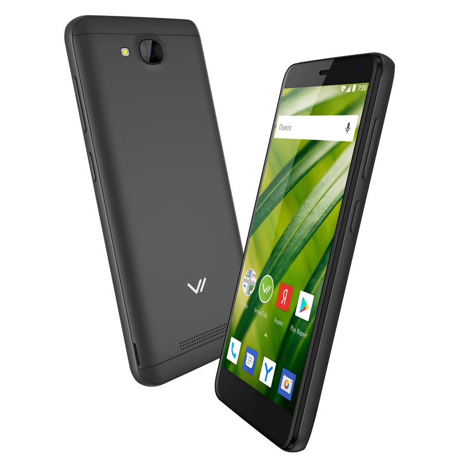 Смартфон Vertex Impress Forest 4G Grafit vertex impress aqua 4g черный