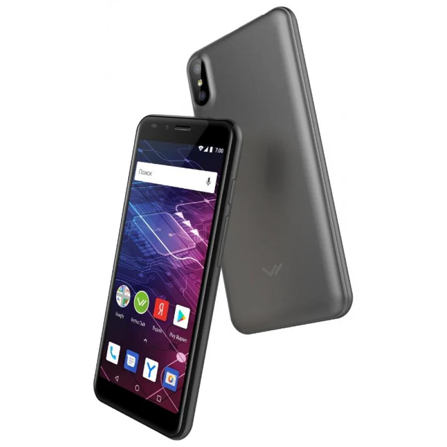 Смартфон Vertex Impress Click NFC 3G Grafit смартфон vertex impress flash grafit
