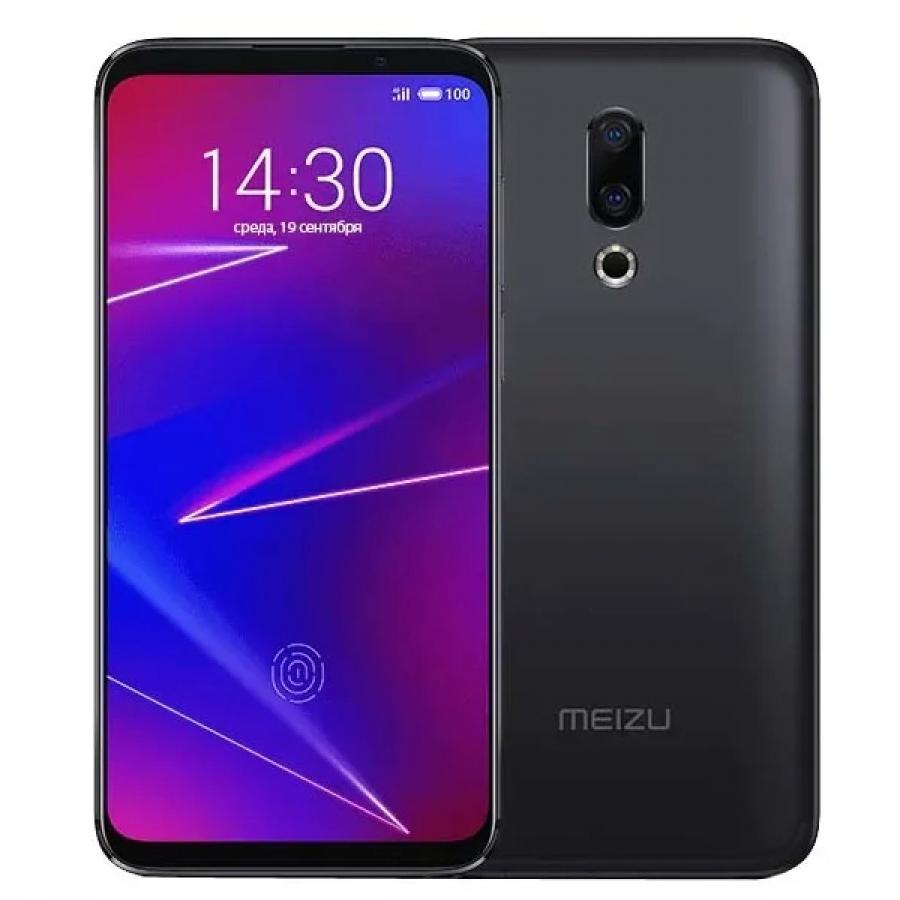 Смартфон Meizu 16 6/64Gb Black смартфон meizu pro7 plus 64gb 6gb black m793h