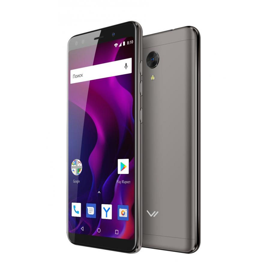 Смартфон Vertex Impress Aqua LTE Black смартфон fly fs523 cirrus 16 lte black