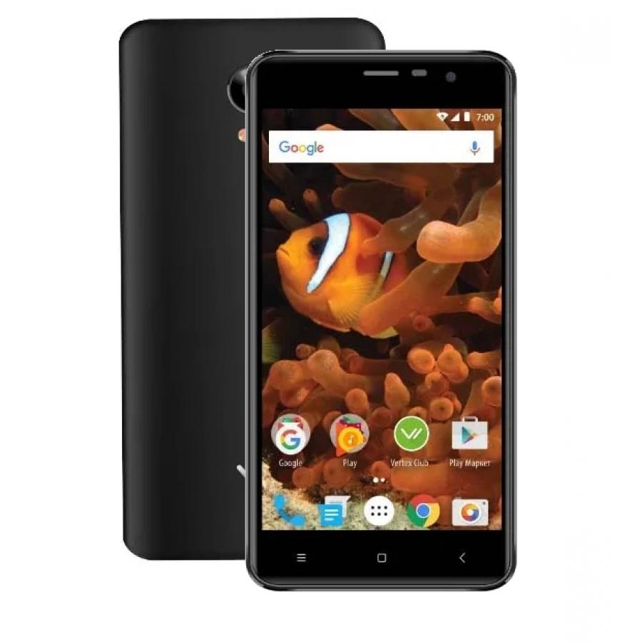 Смартфон Vertex Impress Reef LTE Black смартфон vertex impress city lte black