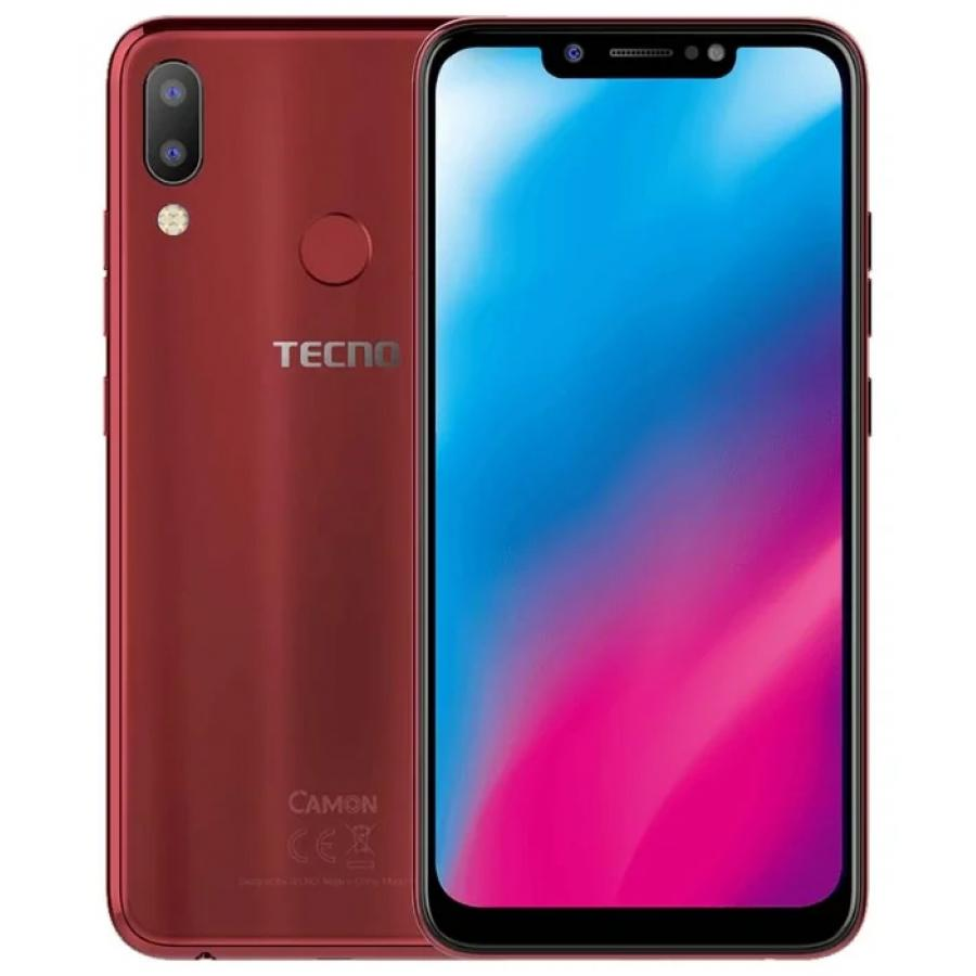 Смартфон Tecno Camon 11 Bordeaux Red [available from 10 11] tie in wooden box berthier berthier silk bordeaux 807 1 94 wine red