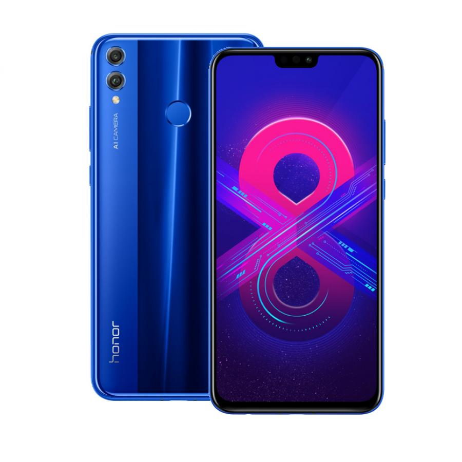 Смартфон Honor 8X 128Gb Blue смартфон honor view 20 128gb чёрный