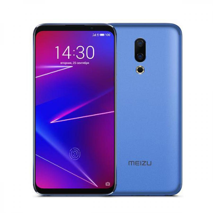 Смартфон Meizu 16 6/64Gb Royal Blue сотовый телефон meizu m8 64gb blue
