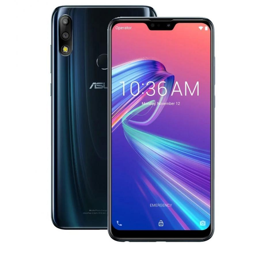 Смартфон Asus Zenfone Max Pro (M2) ZB631KL 4/64GB Blue (90AX01B2-M00050) смартфон asus zenfone 5 ze620kl 4 64gb midnight blue