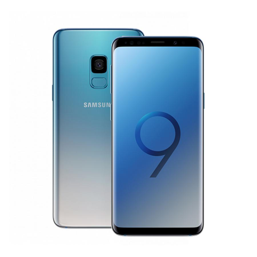Смартфон Samsung Galaxy S9 G960F 64Gb Голубой смартфон samsung galaxy s9 sm g960f 64gb черный