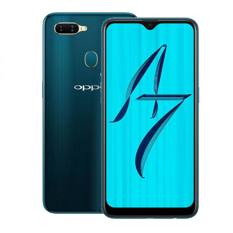 Смартфон Oppo AX7 3/64Gb (CPH1903) Морская волна аксессуар кабель oppo pm 3 portable cable для android white