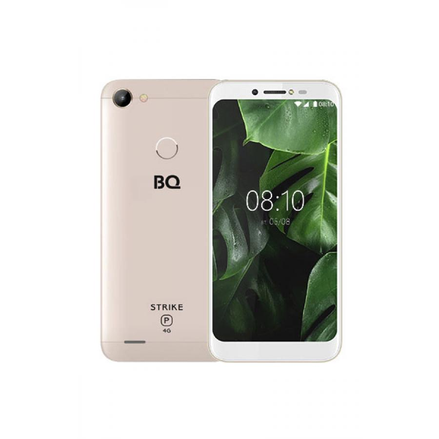 Смартфон BQ BQ-5514L Strike Power LTE Gold смартфон bq mobile strike power 4g 8 gb серый
