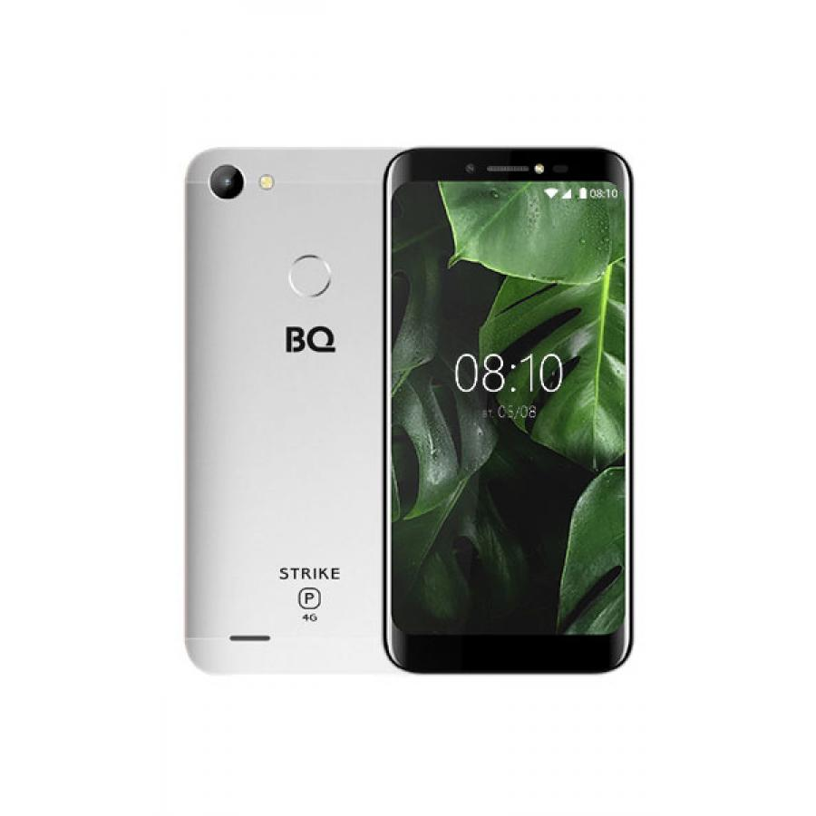Смартфон BQ BQ-5514L Strike Power LTE Silver смартфон bq mobile strike power 4g 8 gb серый