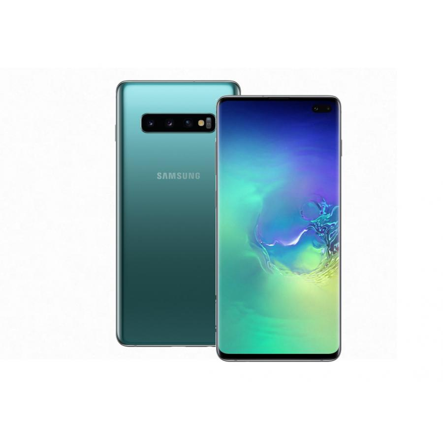 Смартфон Samsung Galaxy S10+ G975F 8/128Gb Аквамарин смартфон samsung galaxy s10e 128gb аквамарин