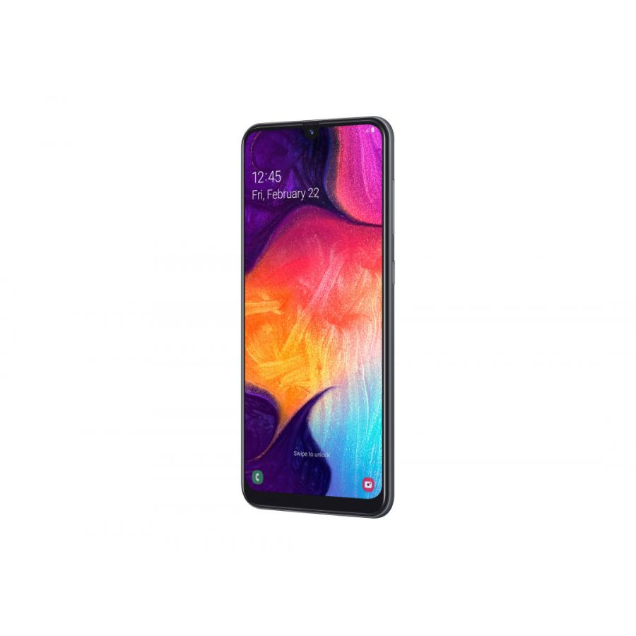 Смартфон Samsung Galaxy A50 64GB (2019) A505F Black - фото 5