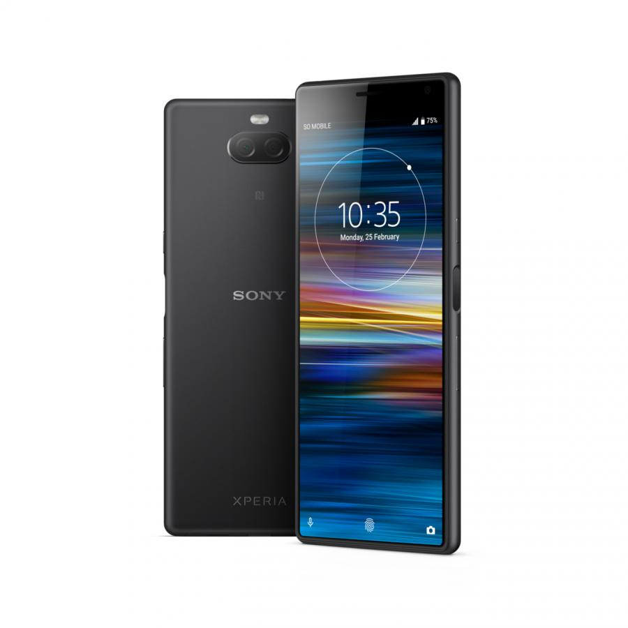 Смартфон Sony Xperia 10 I4113 Black смартфон sony xperia 10 ds i4113 silver sd630 3гб 64 гб 6 fhd 21 9 3g 4g bt android 9 0