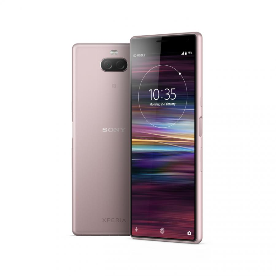 Смартфон Sony Xperia 10 I4113 Pink смартфон sony xperia 10 ds i4113 silver sd630 3гб 64 гб 6 fhd 21 9 3g 4g bt android 9 0