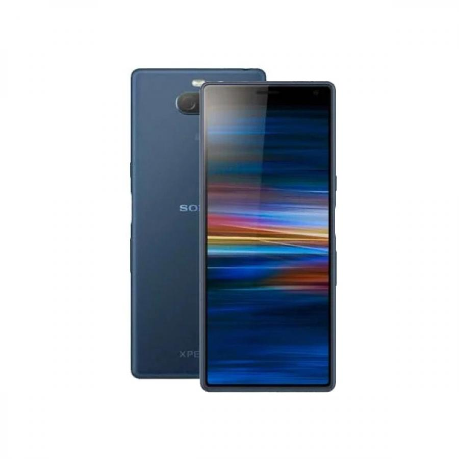 Смартфон Sony Xperia 10 I4113 Navy смартфон sony xperia 10 plus ds i4213 navy sd636 4гб 64 гб 6 5 fhd 21 9 3g 4g bt android 9 0