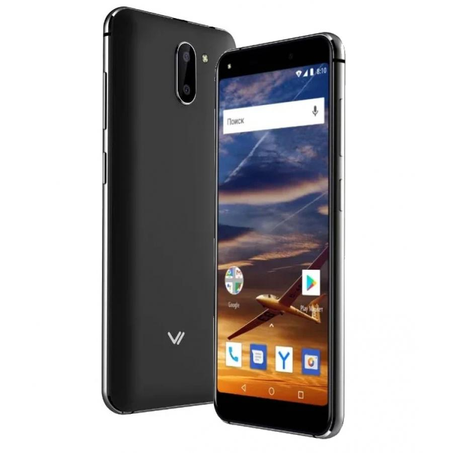 Смартфон Vertex Impress VIRA NFC LTE Black смартфон vertex impress city lte black