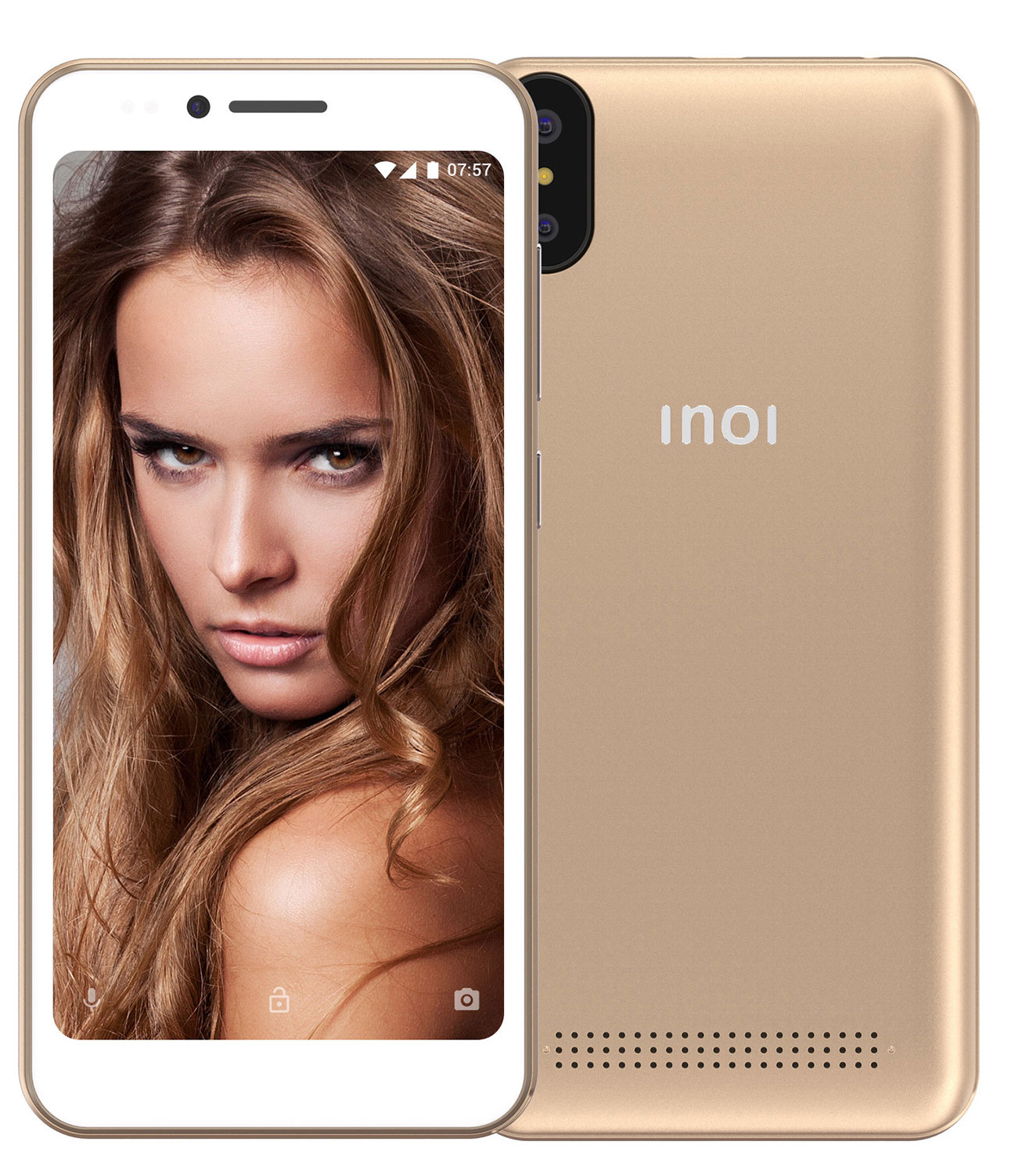 Смартфон INOI 3 Power Gold смартфон inoi 3 lite gold