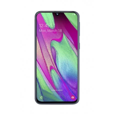 Смартфон Samsung Galaxy A40 64GB (2019) A405F Black - фото 1