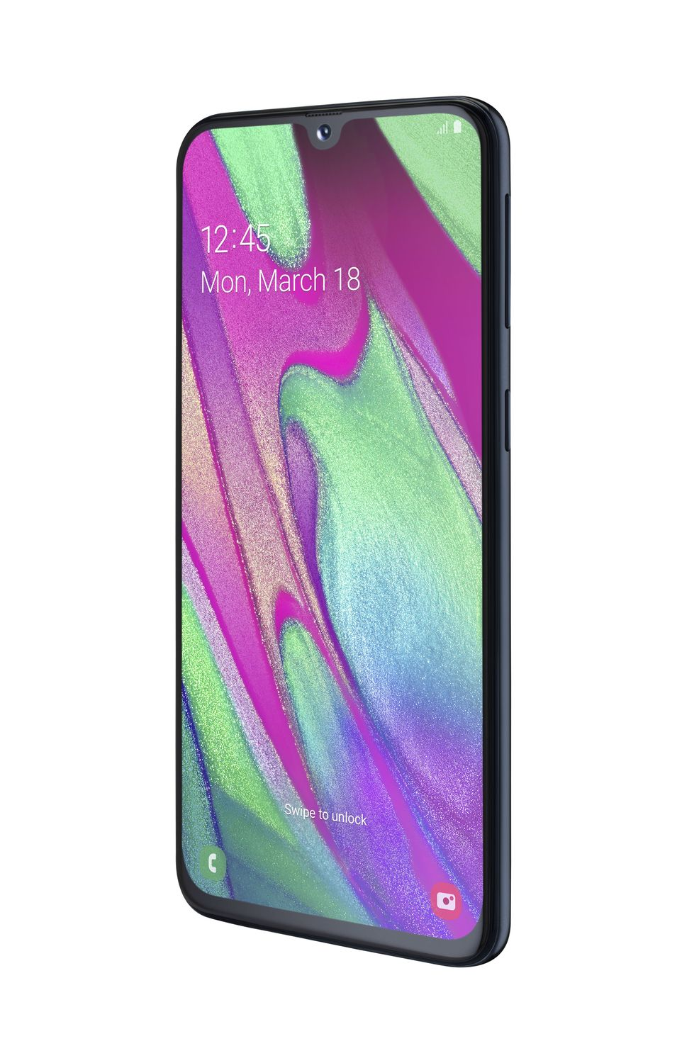 Смартфон Samsung Galaxy A40 64GB (2019) A405F Black - фото 2