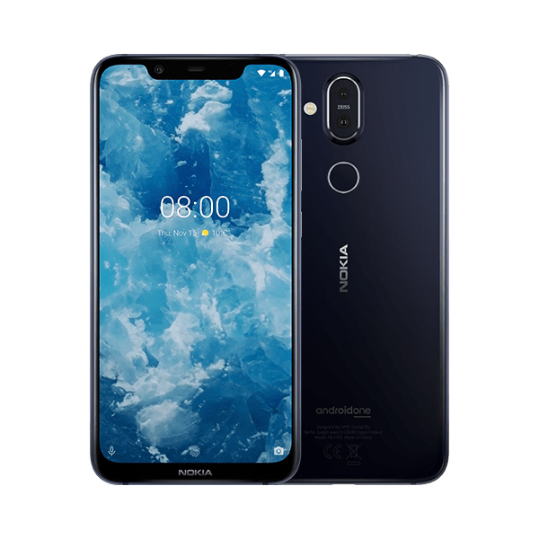 Смартфон Nokia 8.1 DS Blue смартфон