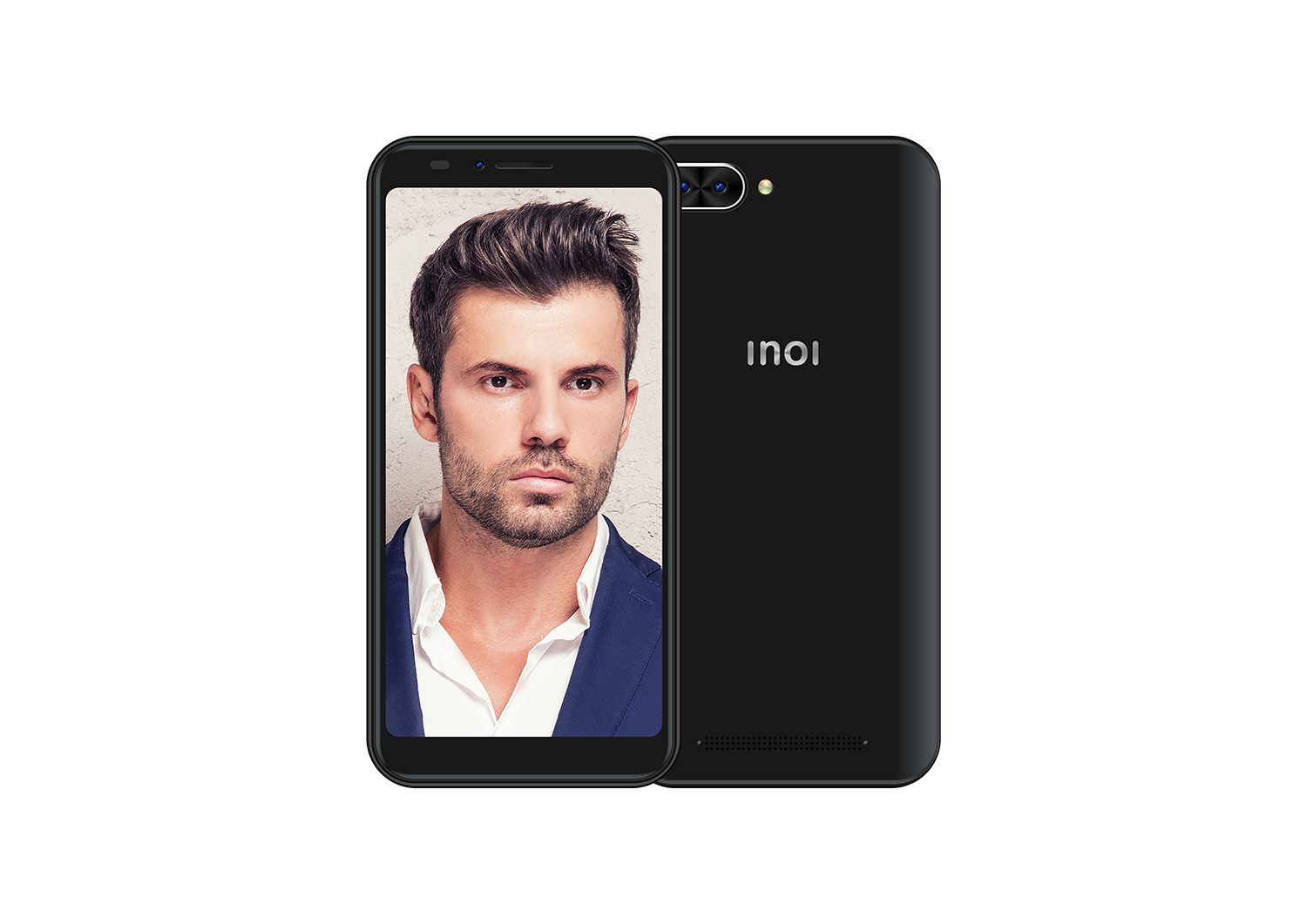 Фото - Смартфон INOI 6i Black смартфон inoi 2 1 8gb black