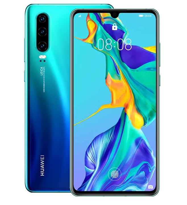 Смартфон Huawei P30 Aurora brother f жакет brohter f бразер ф f 308 0214 голубой l голубой