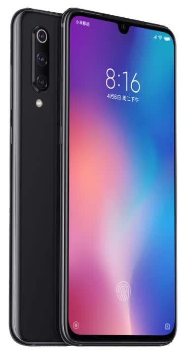 Смартфон Xiaomi Mi 9 6/64GB Piano Black смартфон