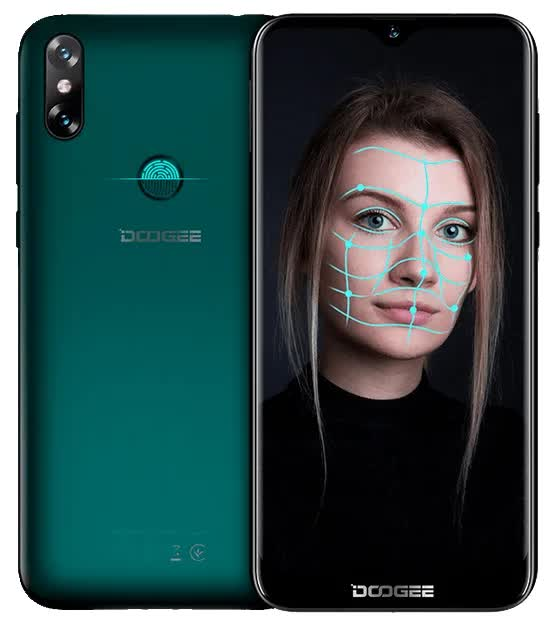Смартфон Doogee X90L Emerald Green смартфон